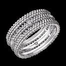 Ring Le Premier Jour, white gold, diamonds
