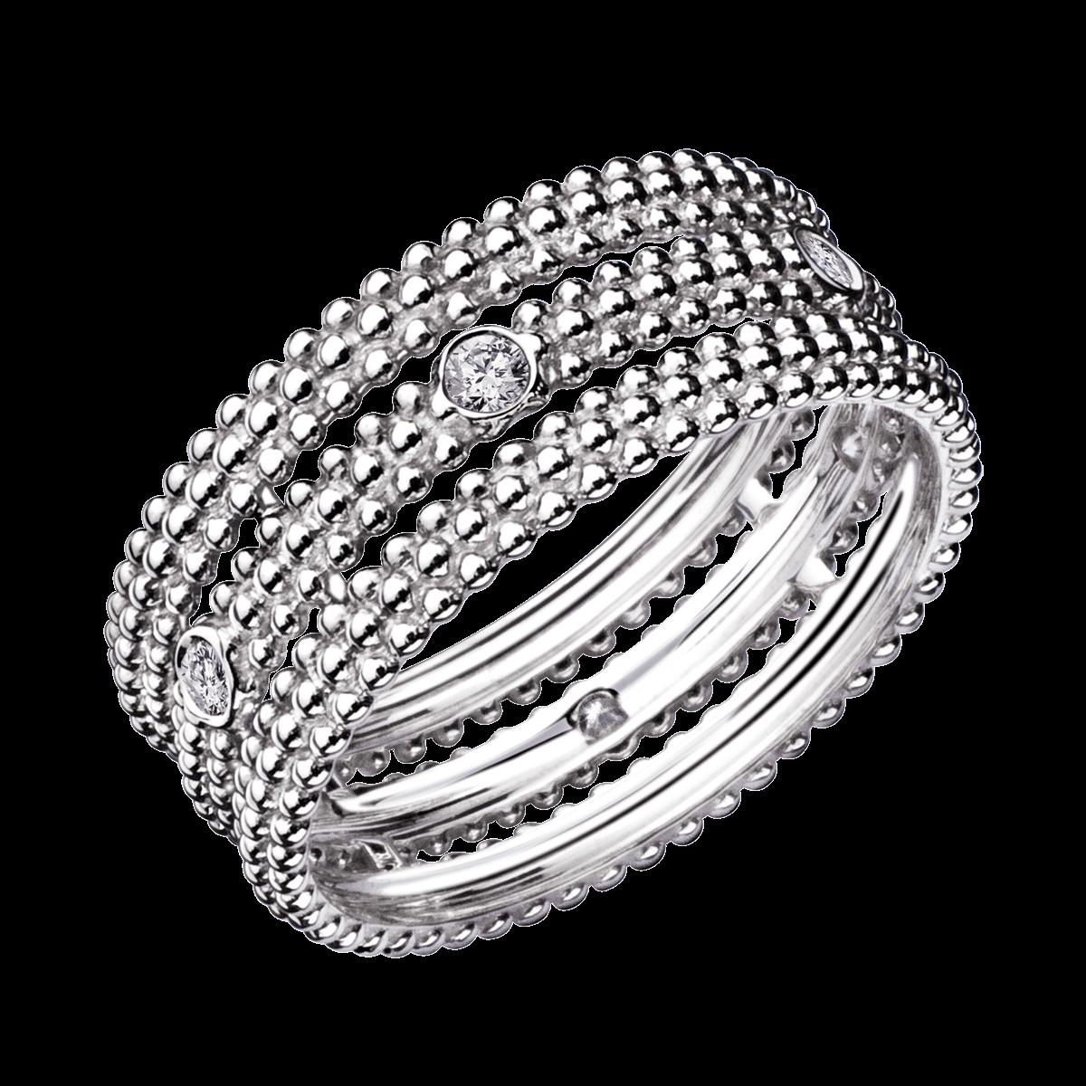 Favori Bague Le Premier Jour, or blanc, diamants - Mauboussin CS16