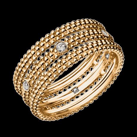 Ring Le Premier Jour, yellow gold, diamonds