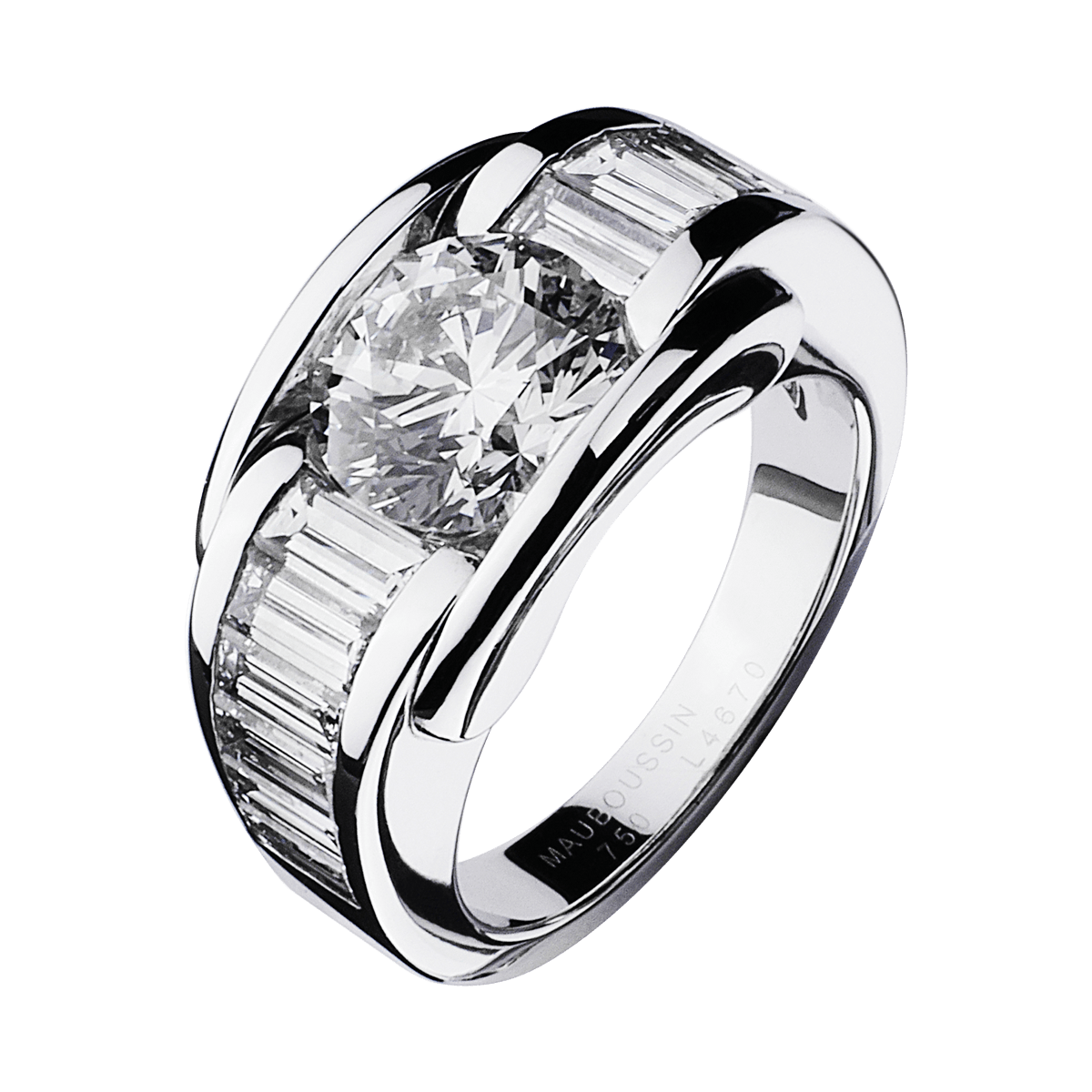 Souvent Bague Alessandra or blanc, diamants - Mauboussin KA64