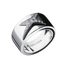 Ring, L'Etoile du Démon, black ceramic, white gold and diamonds