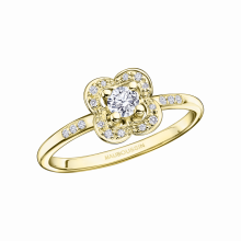 BAGUE CHANCE SUPER ONE Or jaune, diamant