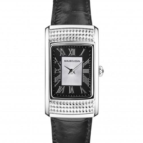 236-Montre-Femme_vitale_du_1er_jour-cadran_noir-bracelet_cuir_noir